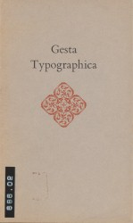 Gesta Typographica Spread 0 recto