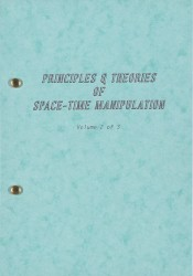 Principles and Theories of Space-time Manipulation: Volume 2 Spread 0 recto