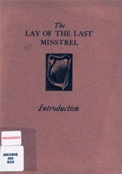 The lay of the last minstrel Spread 0 recto
