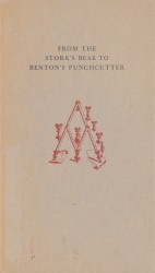 From the Stork's Beak to Benton's Punchcutter Spread 0 recto